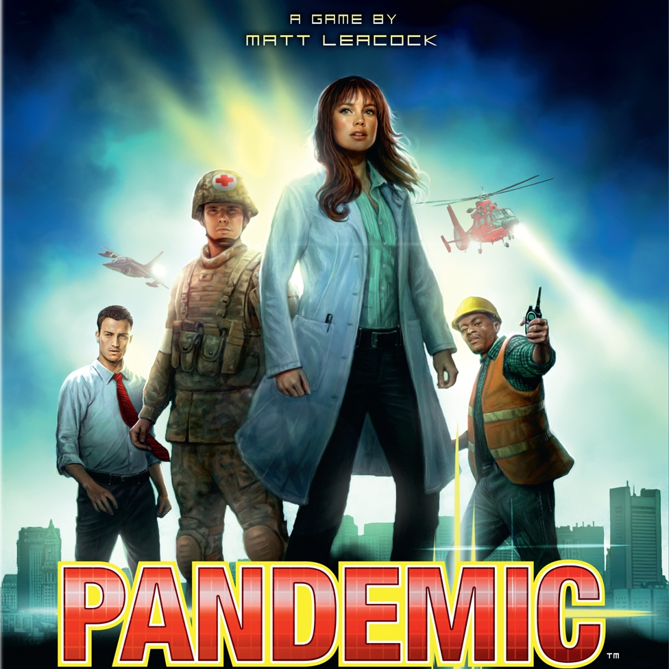 Pandemic - Video - Cardboard Cutouts: 3 Great Games Beyond CatanPodcast - Interview with Matt Leacock (Designer)