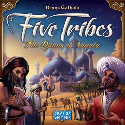 Five Tribes: The Djinns of Naqala - Written ReviewPodcast - Interview with Bruno Cathala (Designer) Podcast - Review & Behind the Scenes - Five Tribes: The Artisans of Naqala