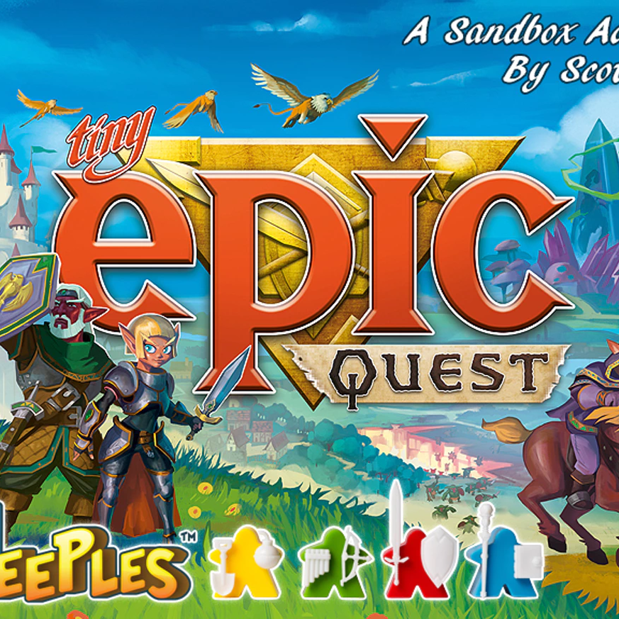 Tiny Epic Quest - Written ReviewPodcast - Interview with Michael Coe (Publisher) # 1Podcast - Interview with Michael Coe (Publisher) # 2Podcast - Interview with Scott Almes (Designer)