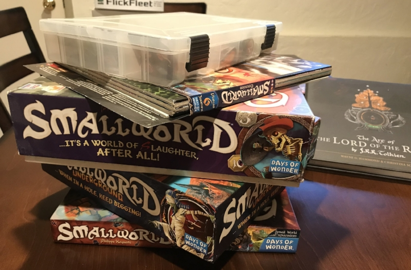 *After owning several expansion, modules, and other Small World paraphernalia, I can definitively say that the Base Game, or maybe the Base Game + a few of the purely race + power expansions is the way to go.