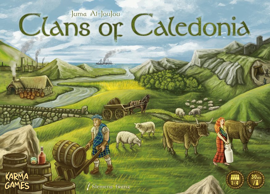 The Cardboard Herald reviews: Clans of Caledonia - The