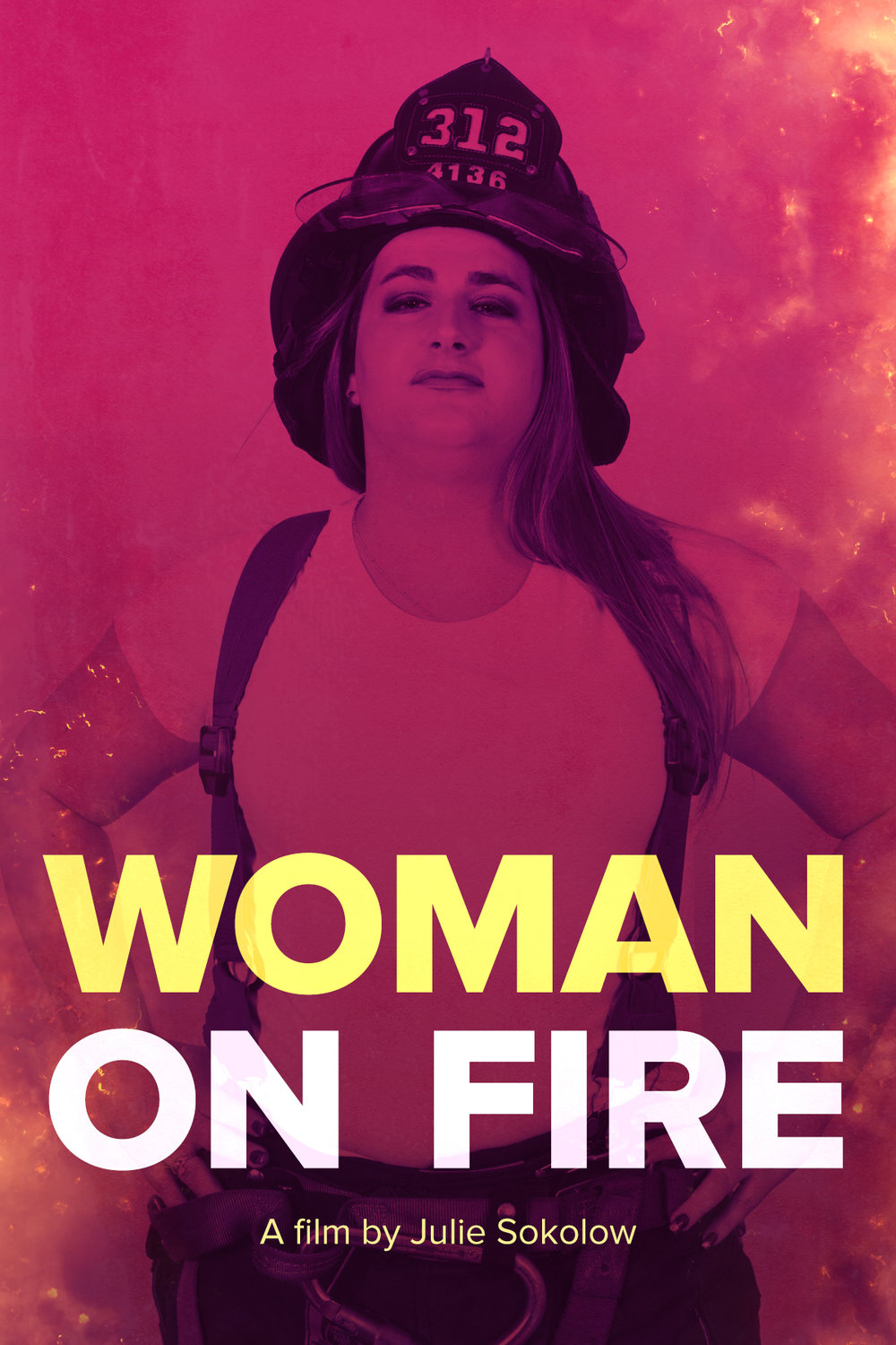 Woman on Fire poster.