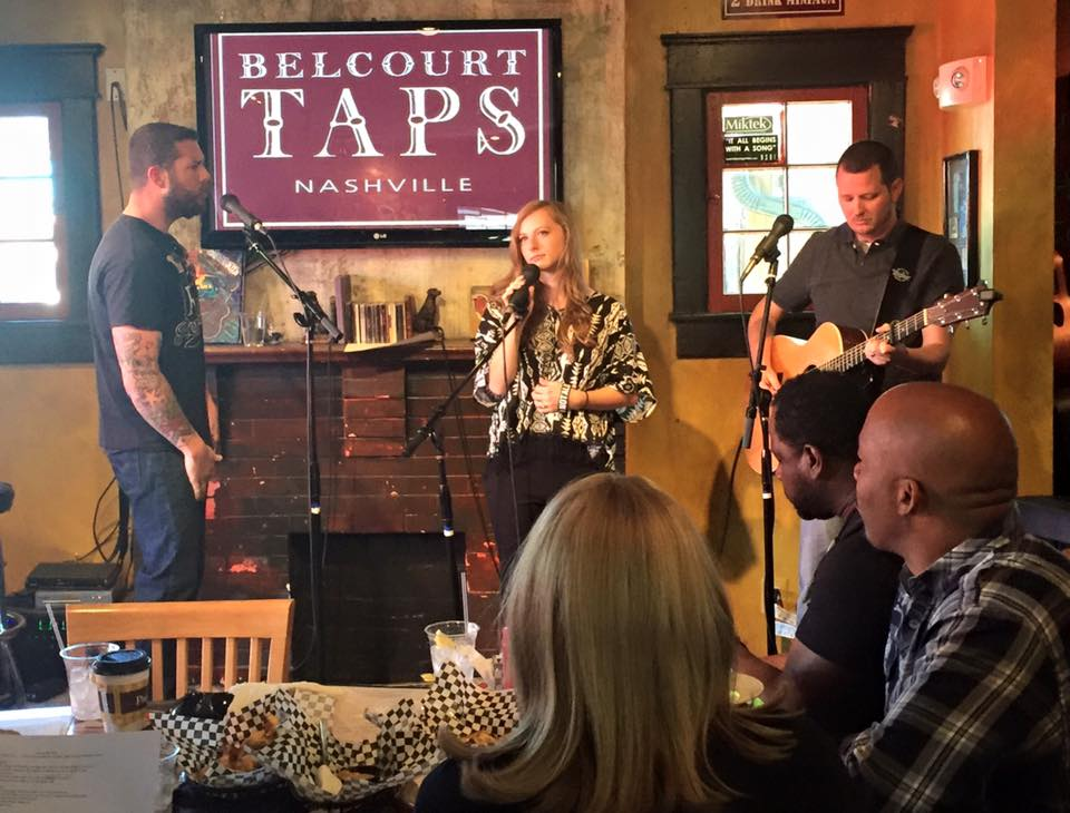 """Hero"" with Gabe Wren and Hannah Forrester at Belcourt Taps Nashville TN"
