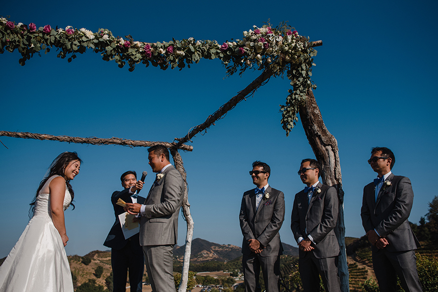 Saddlerock ranch california wedding