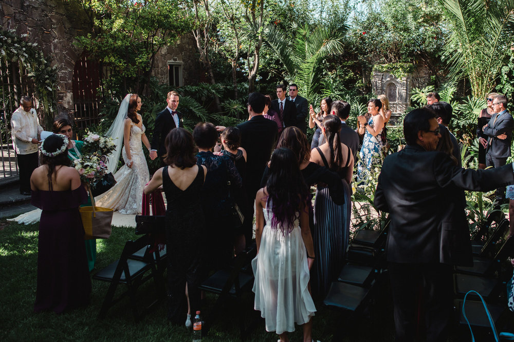 wedding at san miguel de allende