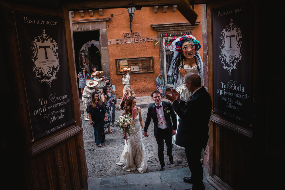 wedding trinitate san miguel de allende