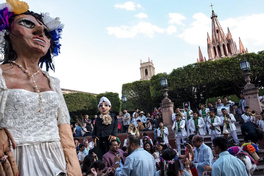 Callejoneada San Miguel de Allende