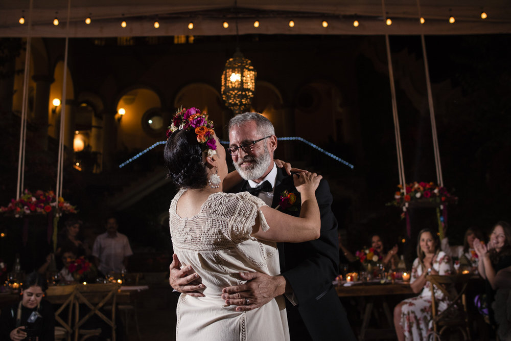 first dance wedding mexico