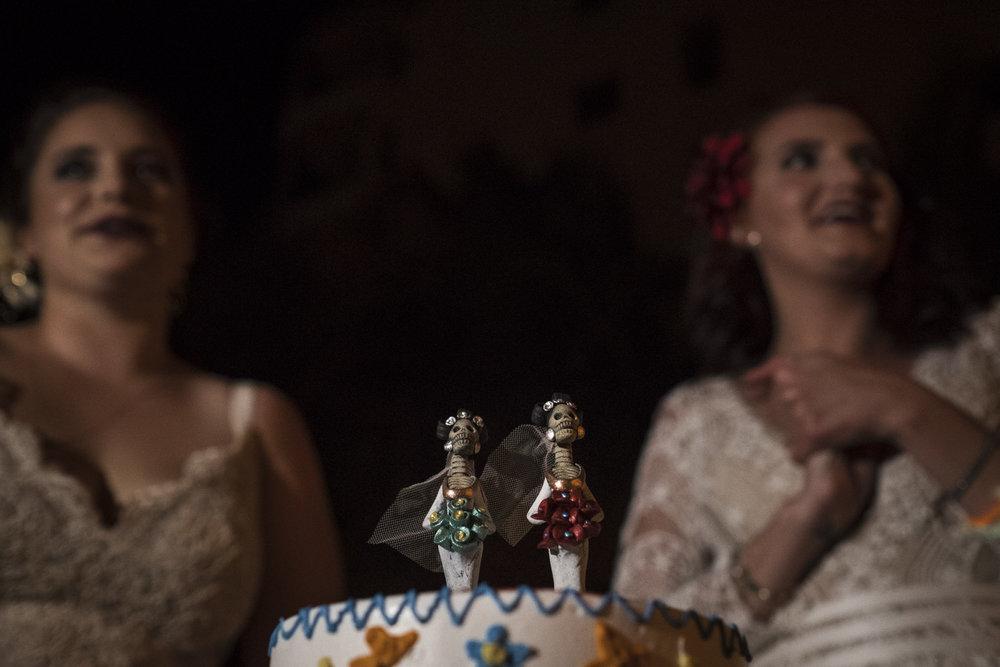 catrina wedding cake