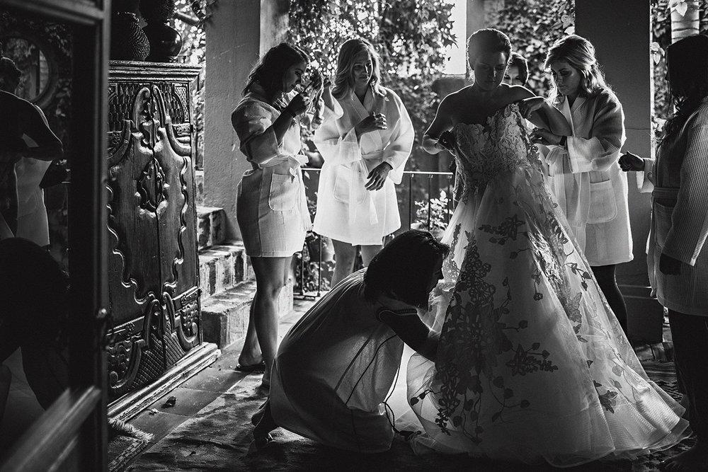 Bride at Casa Hyder San Miguel de Allende Mexico