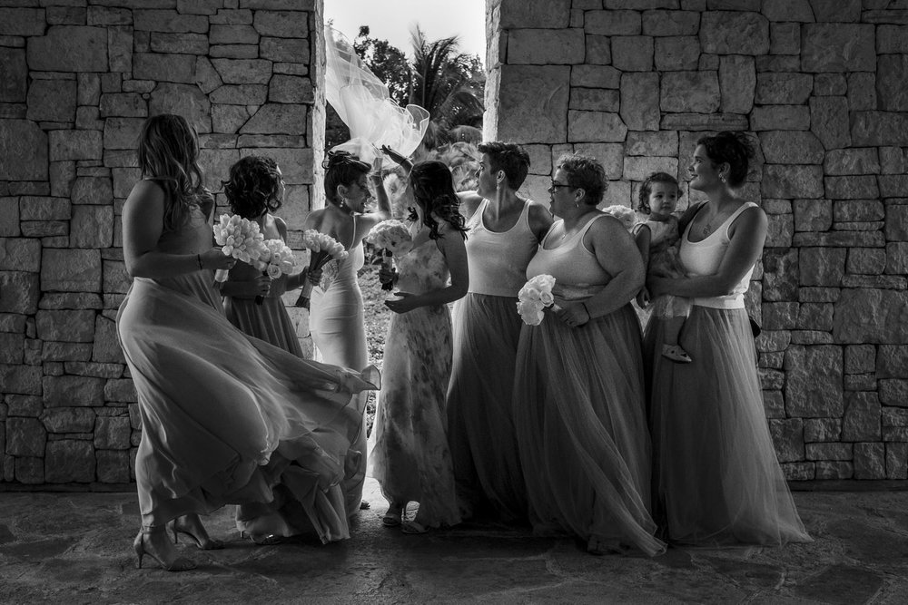 bridesmaids nizuc resort cancun