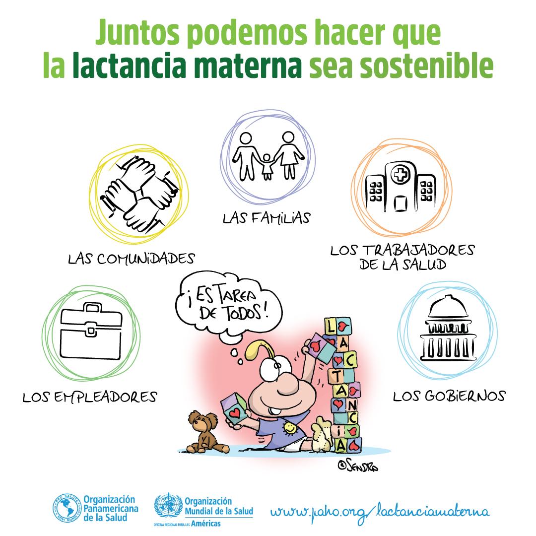 beneficios de la lactancia materna oms