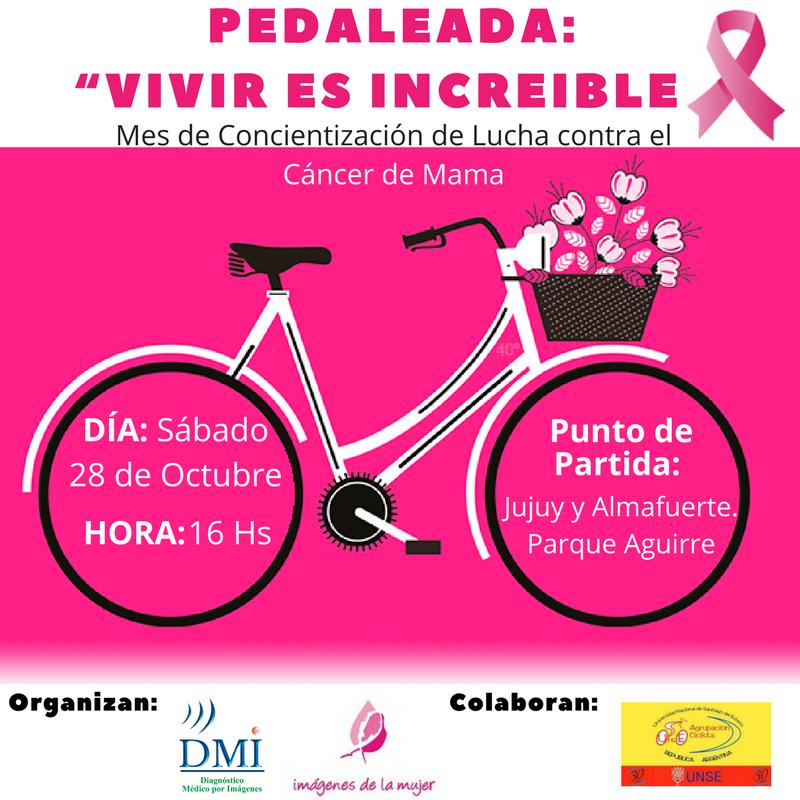 DMI Pedaleada Cancer de Mama