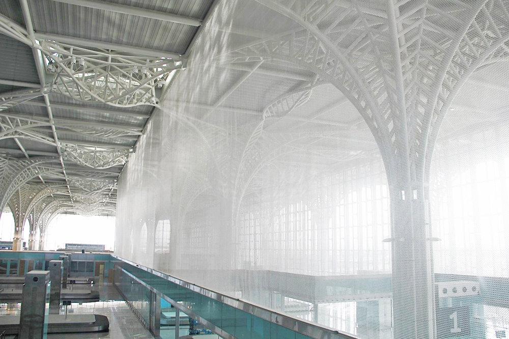 Interior Architectural Screen Divider Airport