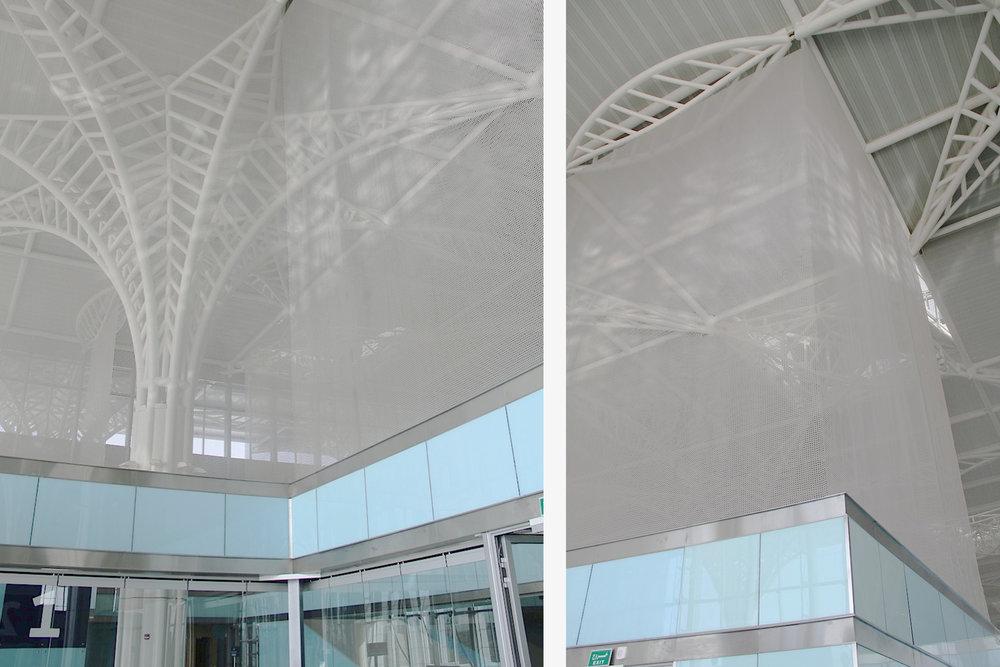 partition security screens airport saudi arabia kaynemaile