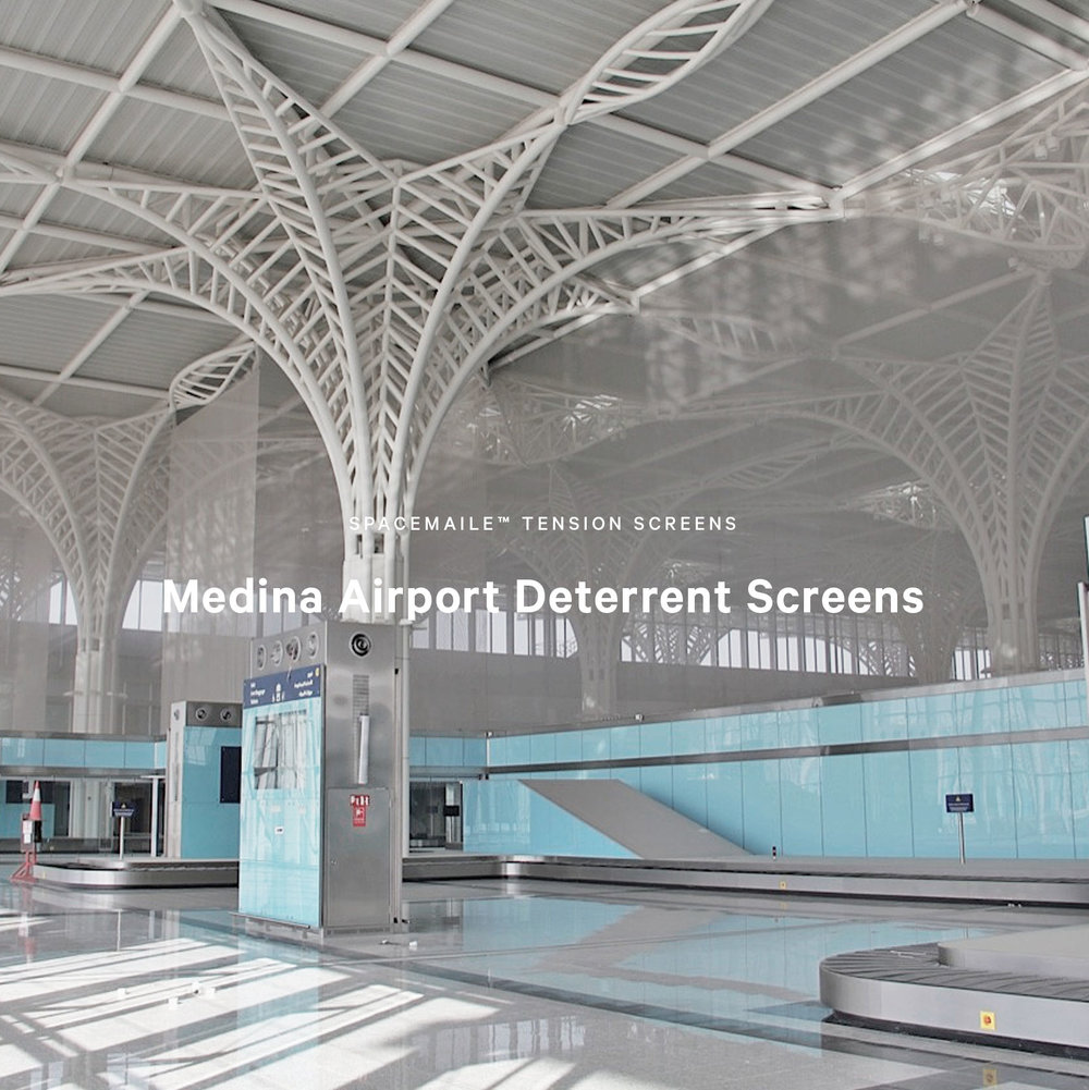 Spacemaile Tension Screens Medina Airport