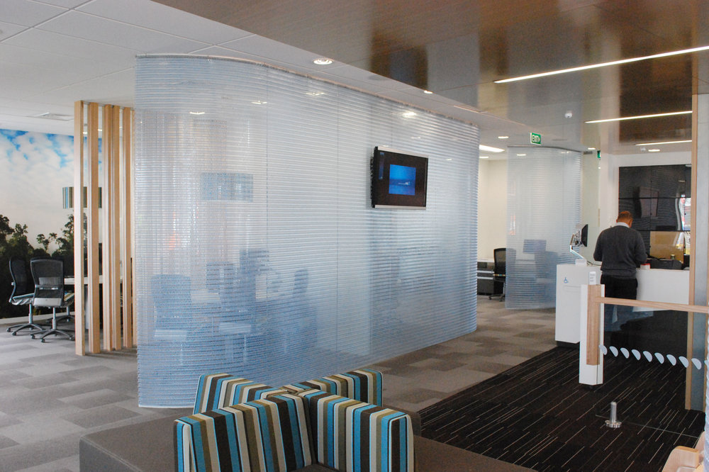interior architectural screen dividers office