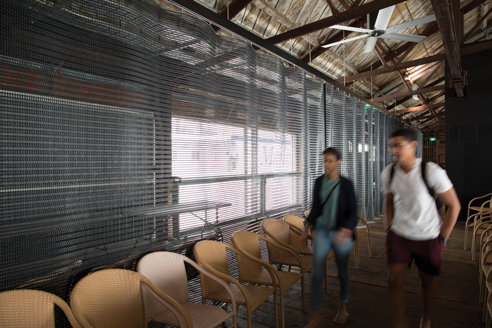 Kaynemaile Architectural Screen Shed 10 Auckland