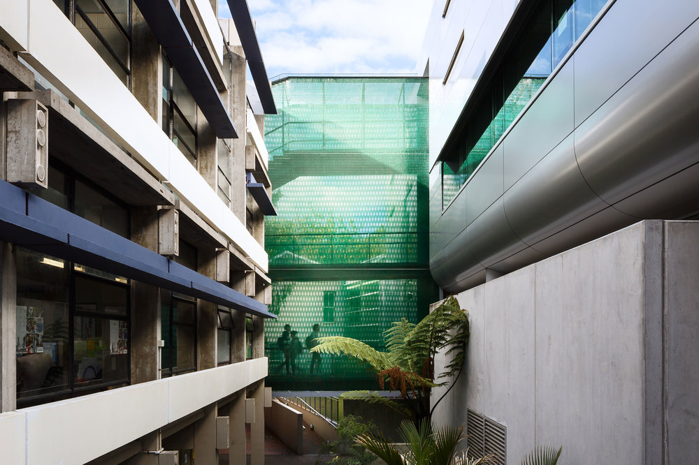 Kaynemaile-Armour, University of Auckland, The Kate Edger Building Walkway