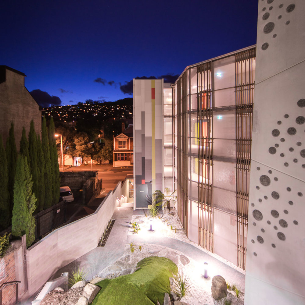 Kaynemaile-Armour Facade for Trinity Hill Accommodation Complex