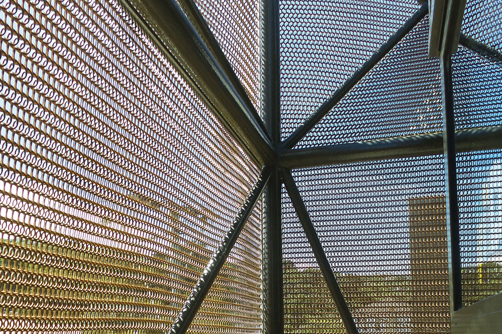 Ideal Electrical Polycarbonate Architectural Mesh