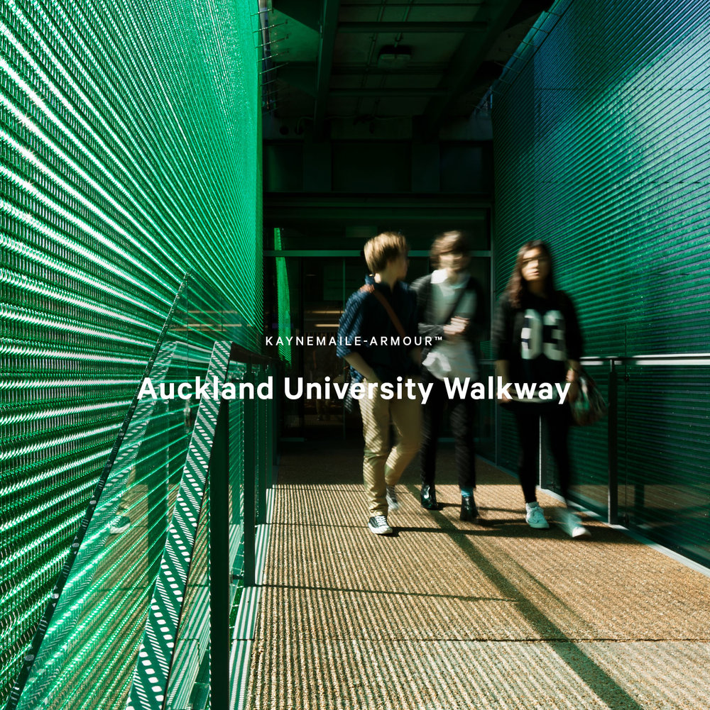 Kaynemaile-Armour walkway Auckland University