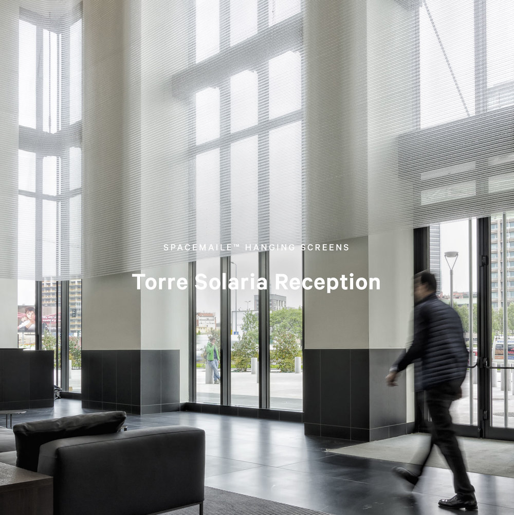 Spacemaile Hanging Screens Torre Solaria Apartment Reception