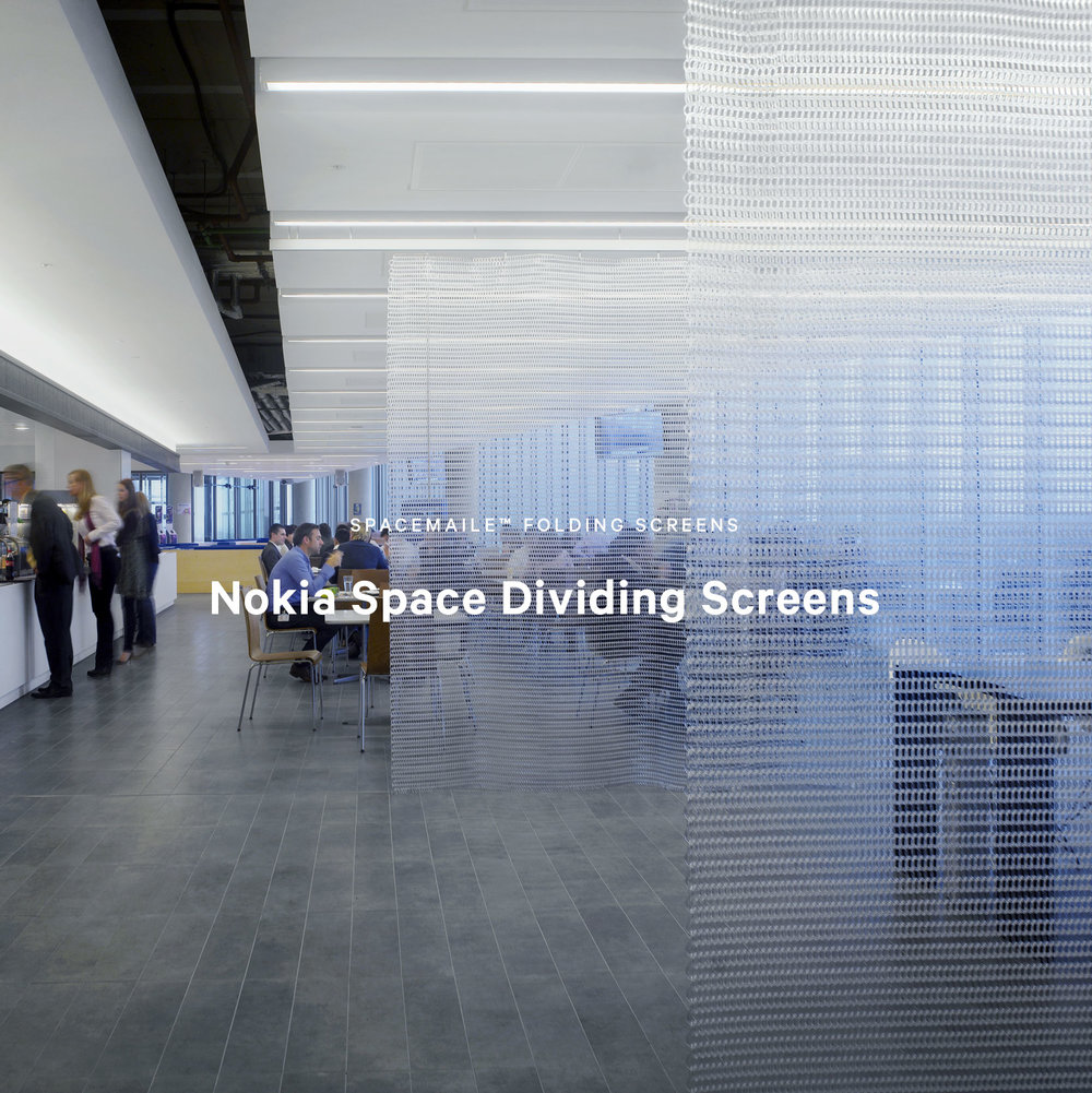 Spacemaile Interior Folding Screens Nokia London