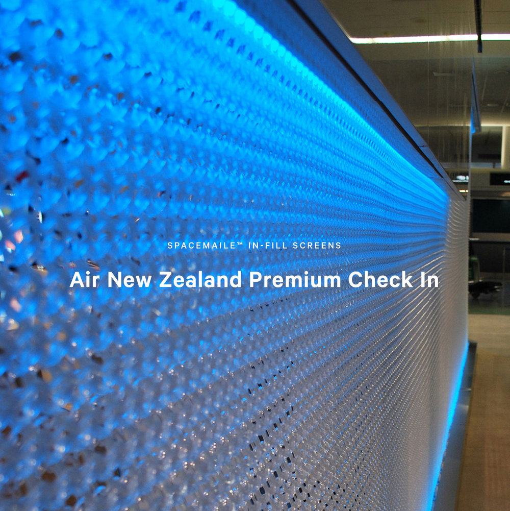 Spacemaile Interior In-Fill Screens Air New Zealand