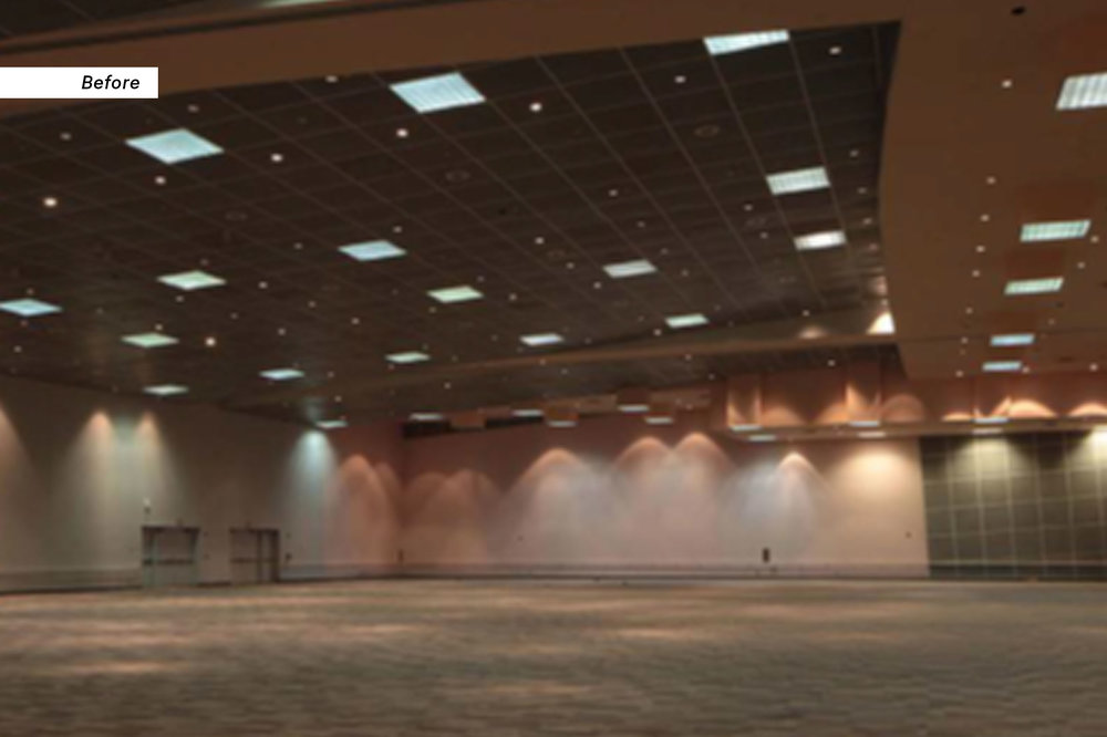 Greater Columbus Convention Center, Before the installation