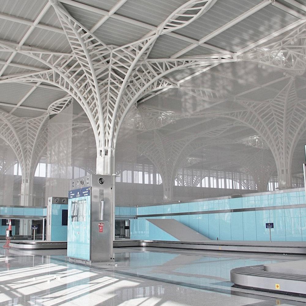 Kaynemaile at Medina Airport Saudi Arabia