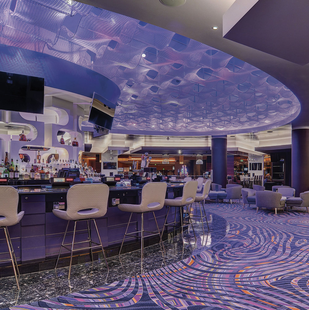 Custom Kaynemaile Ceiling at MGM Grand Detroit