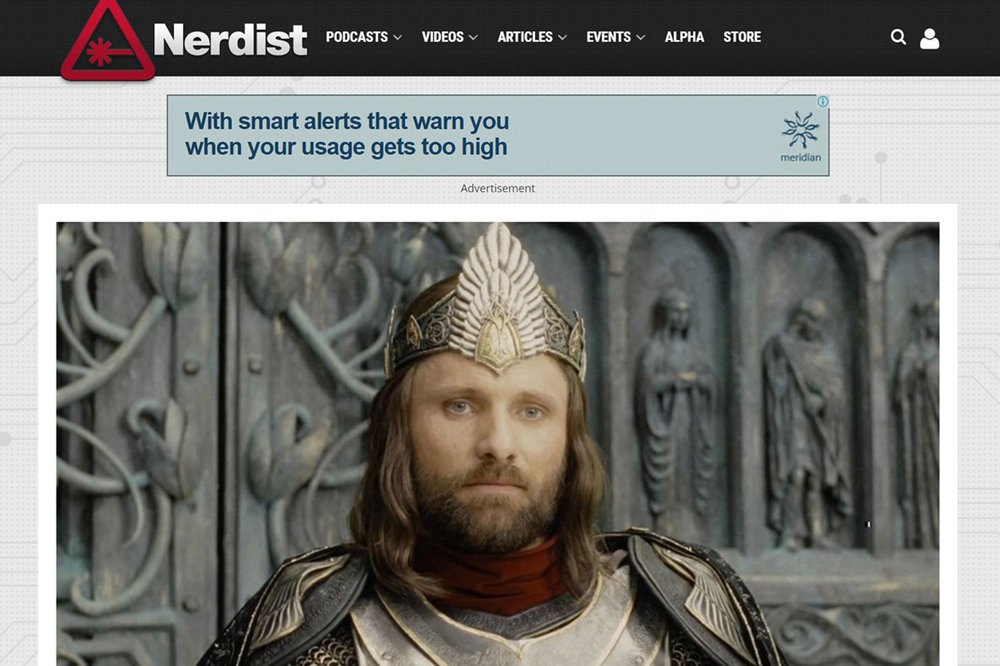 Nerdist: The Lord of The Rings Chainmail has evolved into a Versatile Building Material