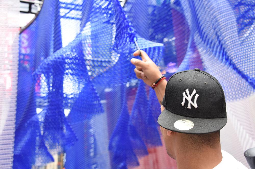 The Drum: Kaynemaile #wavenewyork installation vote for us