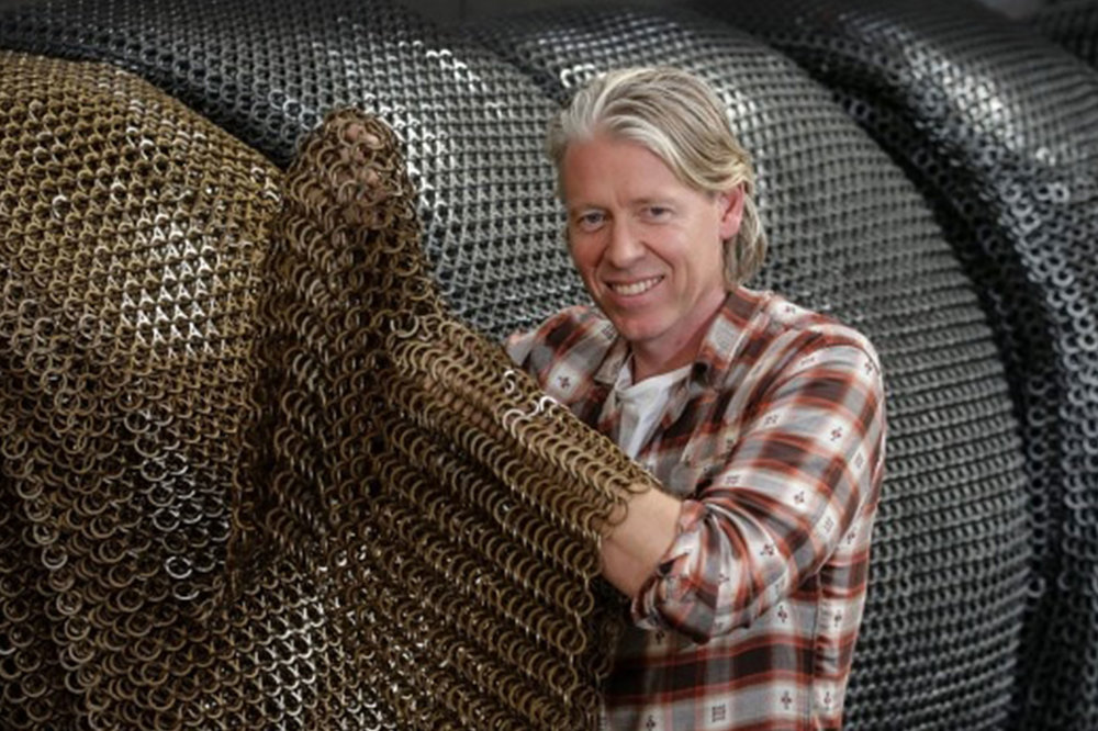 Removing the weakest links from chain mail: Kaynemaile