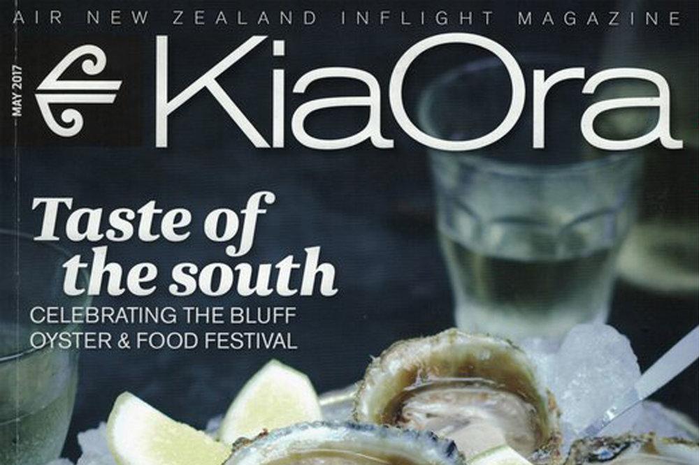 KiaOra Magazine May 2017 Kaynemaile mesh feature Opera House Lane WellingtonNZ