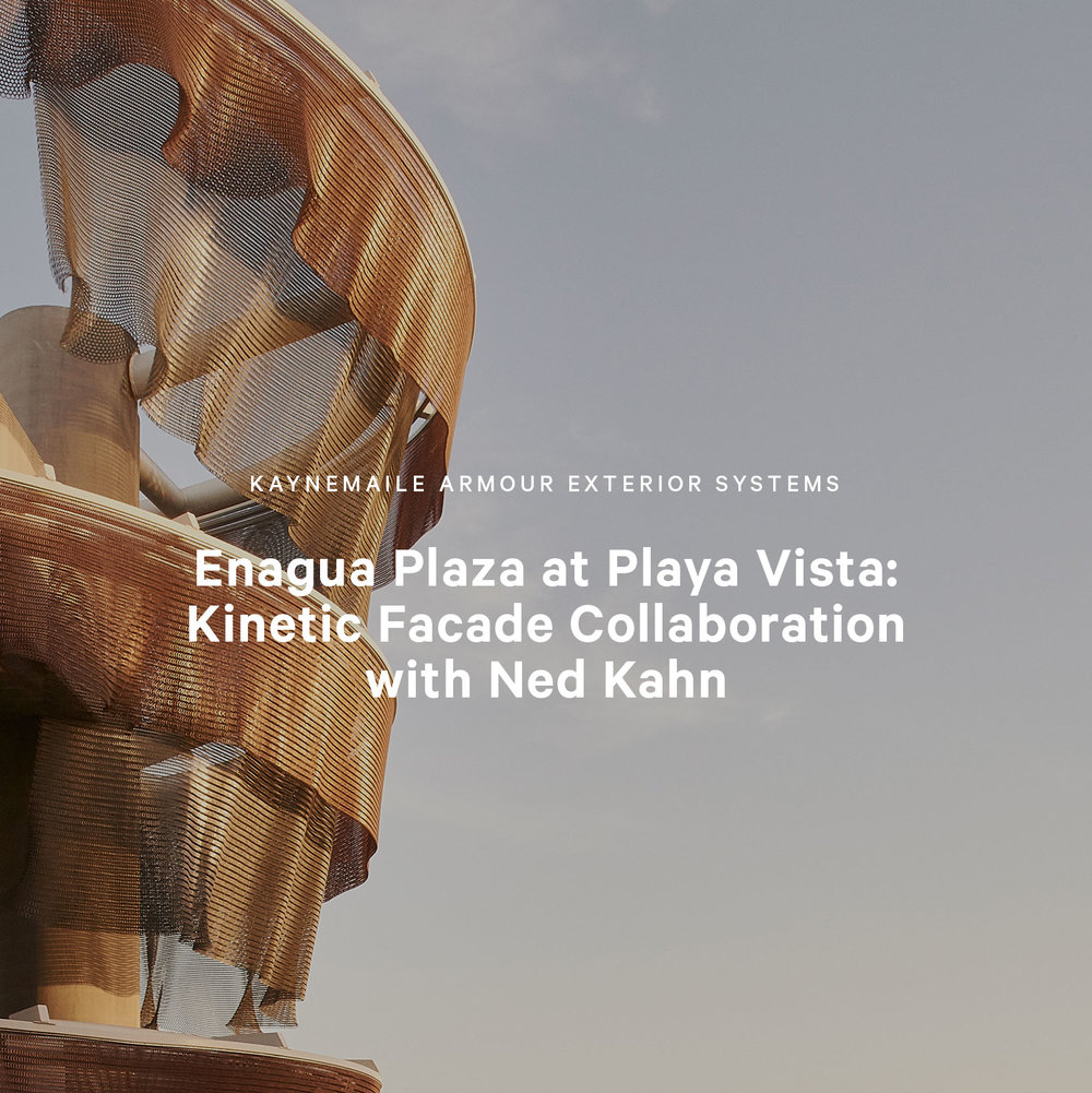 Enagua Plaza at Playa Vista Kaynemaile with Ned Kahn