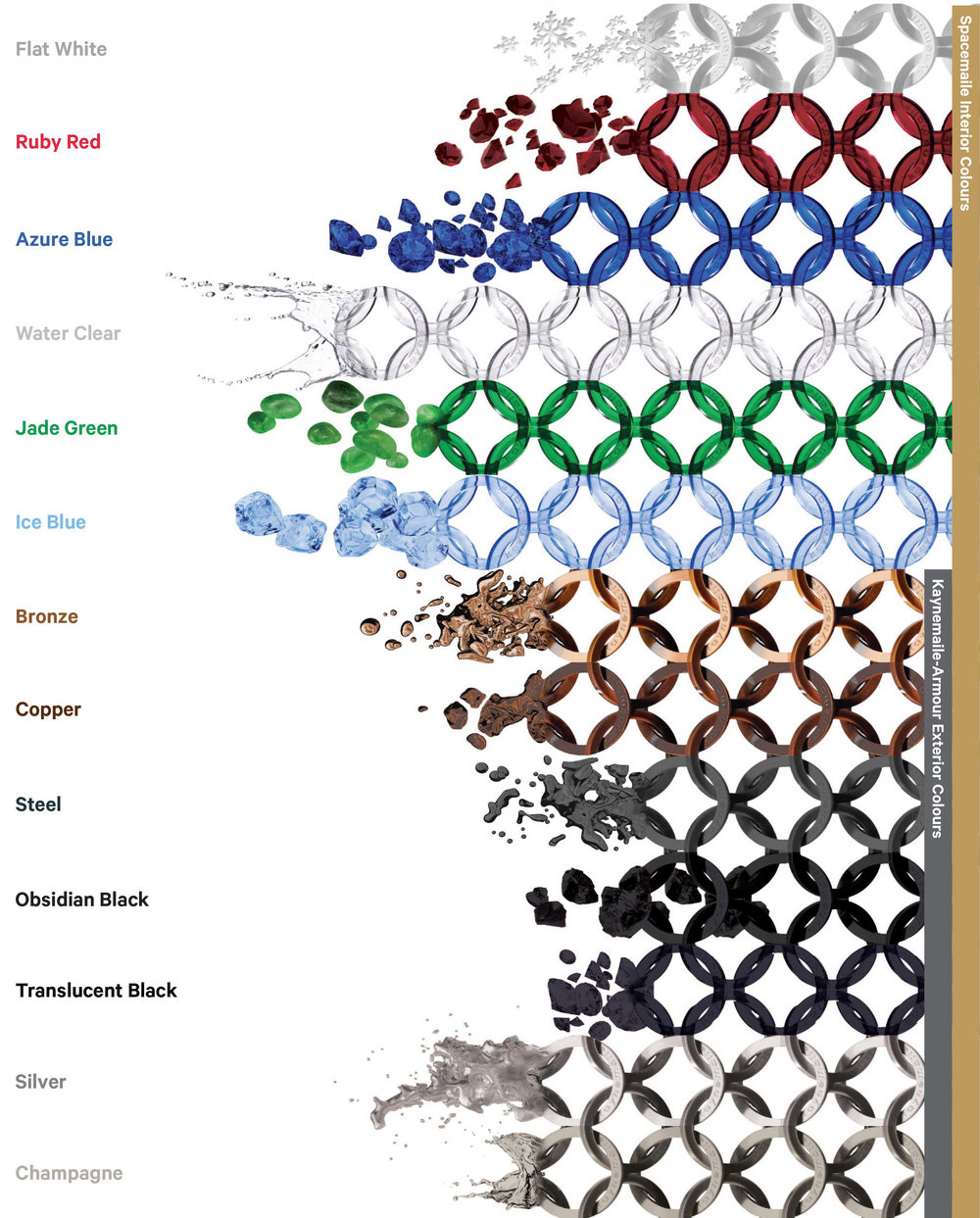 Kaynemaile Color Palette