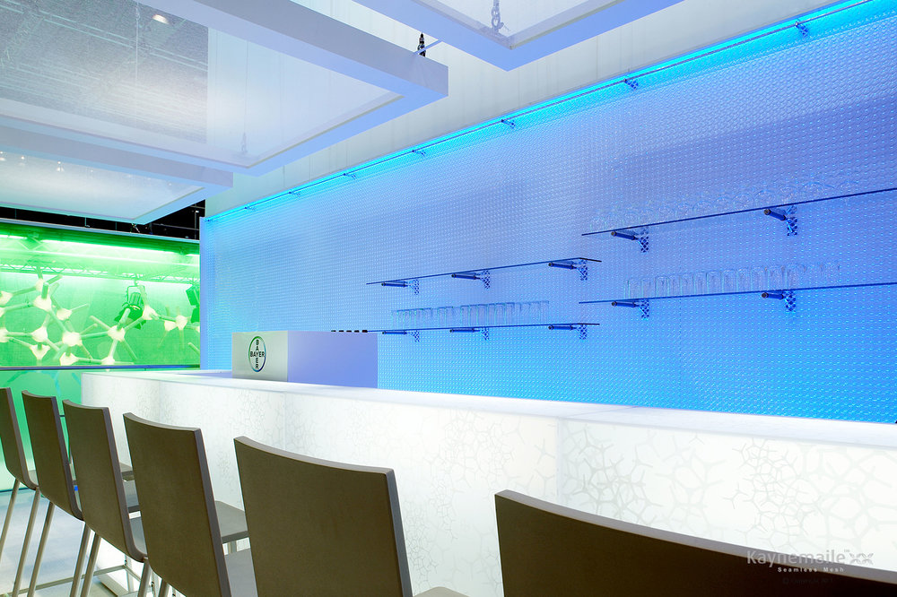 Material Science and Style for Bayer HQ  Leverkusen, Germany