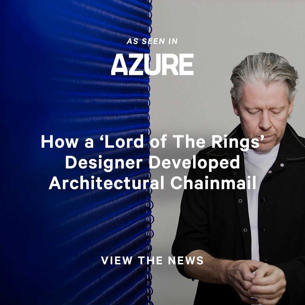 Azure Magazine Kaynemaile July 2018
