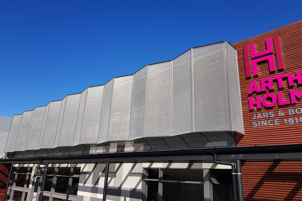 Solar Shading Feature for Arthur Holmes  Wellington, New Zealand    View Project →