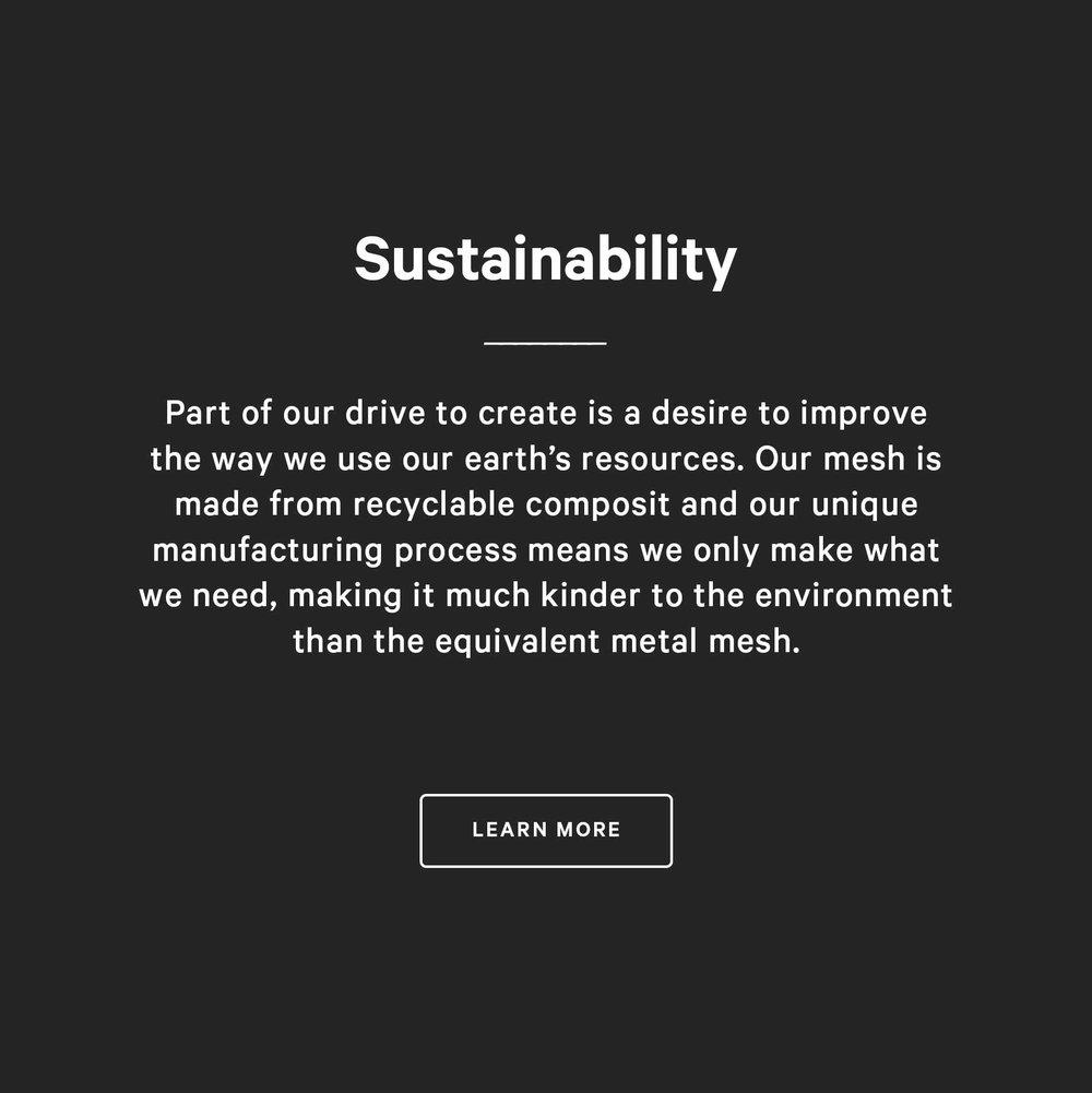 Kaynemaile on sustainability