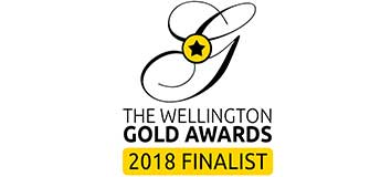 The Wellington Gold Awards 2018 Finalist