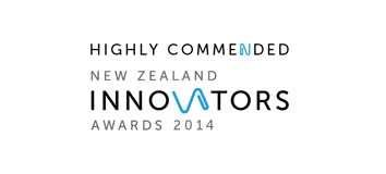 Kaynemaile Highly commended at the New Zealand Innovators awards 2014