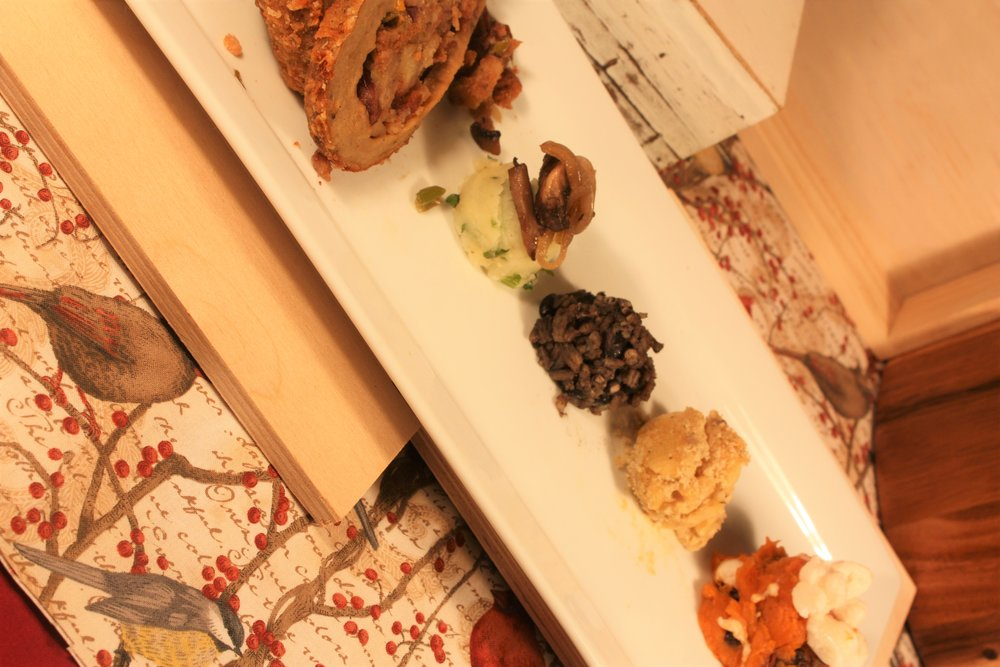 VEGANATION Thanksgiving/ Christmas Holiday Catering Plate