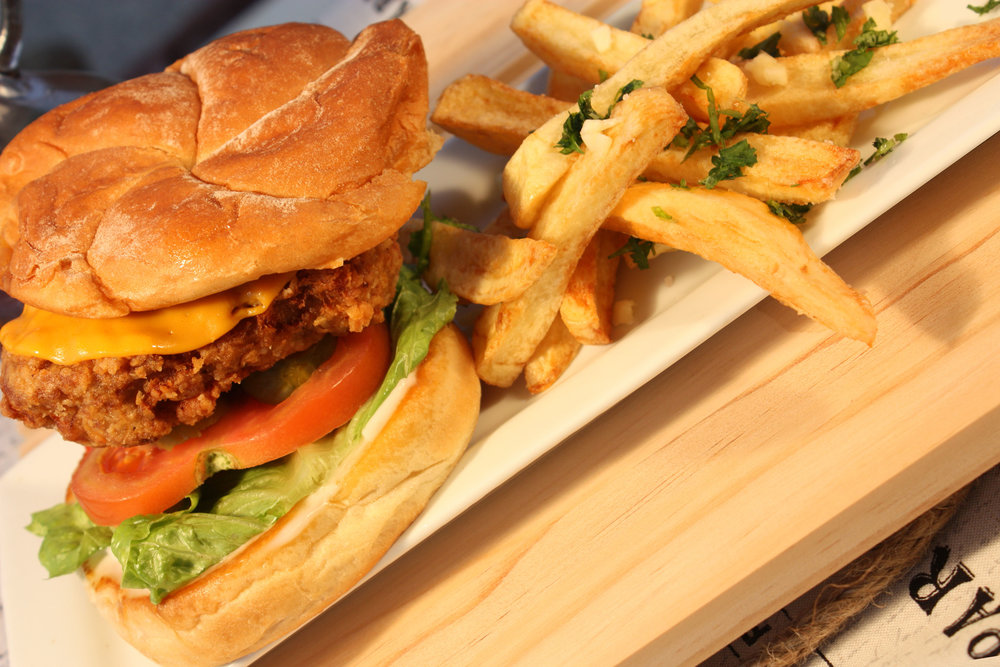 VEGANATION Fried Chicken Sandwich