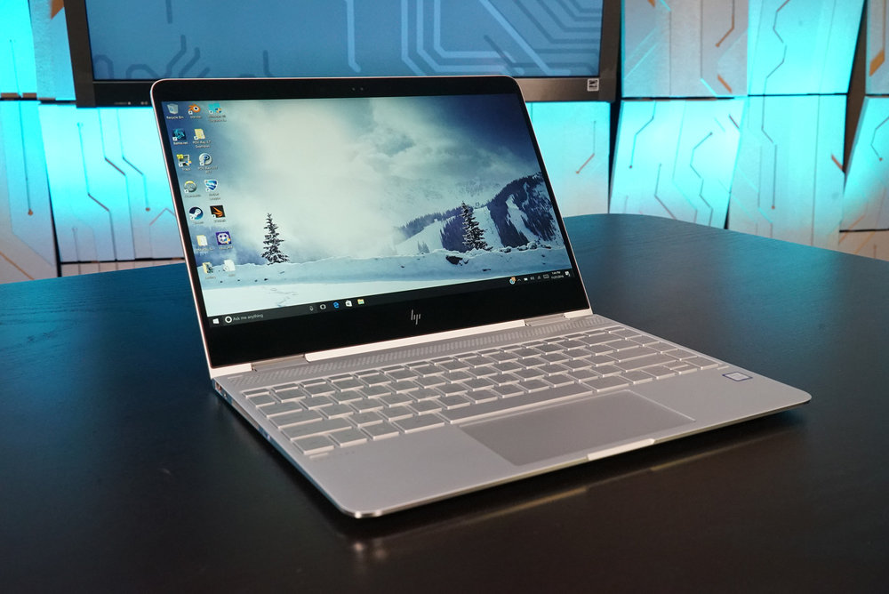 The HP Spectre x360 with Kaby Lake