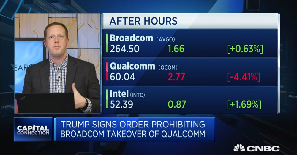 trump blocks broadcom bid for qualcomm - source