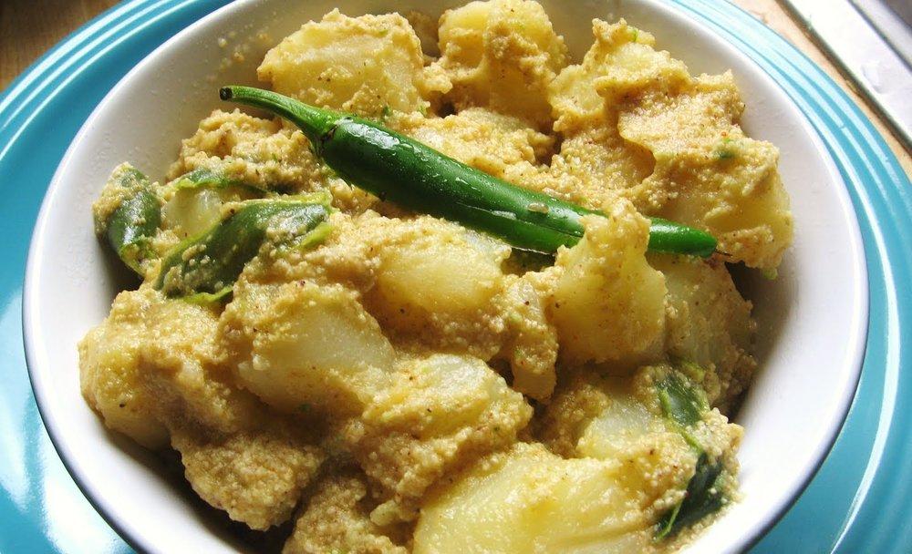 Ayurvedic Recipes_Jhinga Alu Posto.jpg