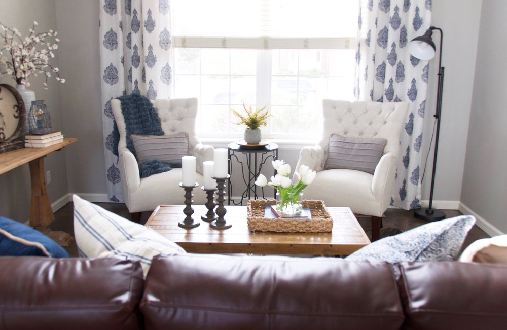 www.basilandtate.com | farmhouse formal living room